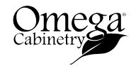 Omega Cabinetry Available at EastBank Interiors